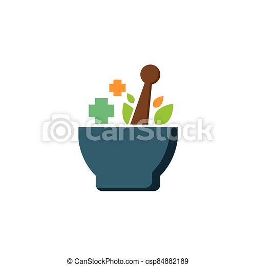 ört medicin, mall, logo - csp84882189
