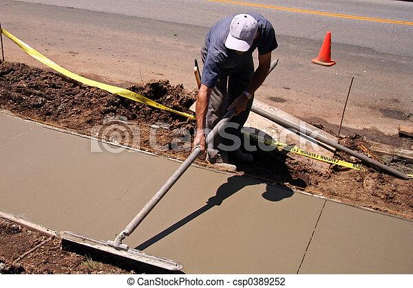 anläggningsarbetare - csp0389252