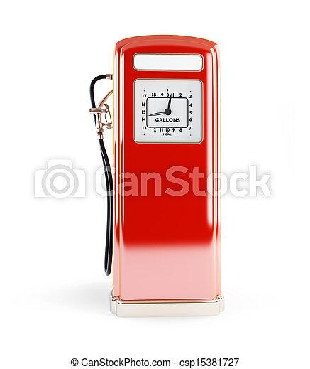 antikvitet, årgång, pump, bensin, drivmedel - csp15381727