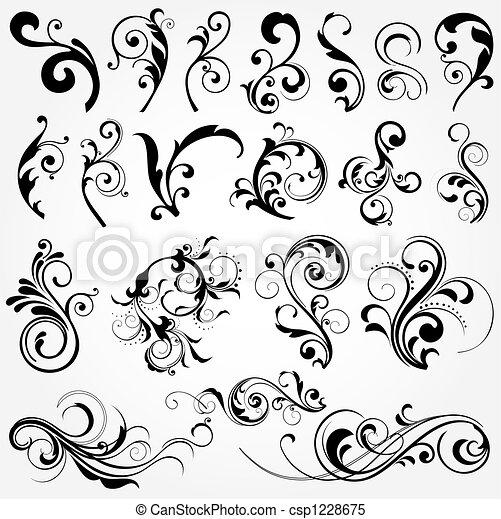 blom grundämnen, design - csp1228675