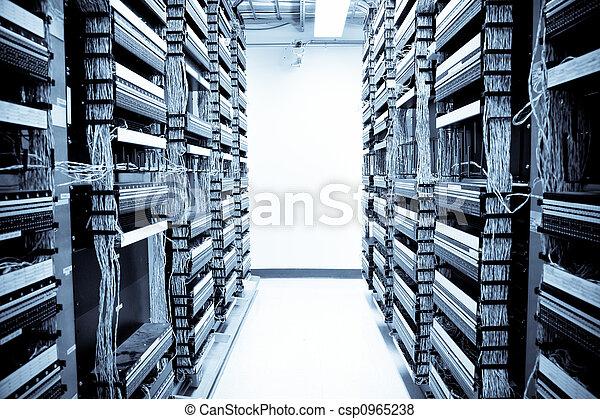 data, nätverk, centrera - csp0965238