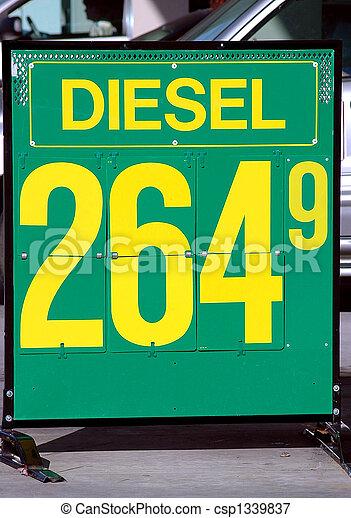 drivmedel, underteckna - csp1339837