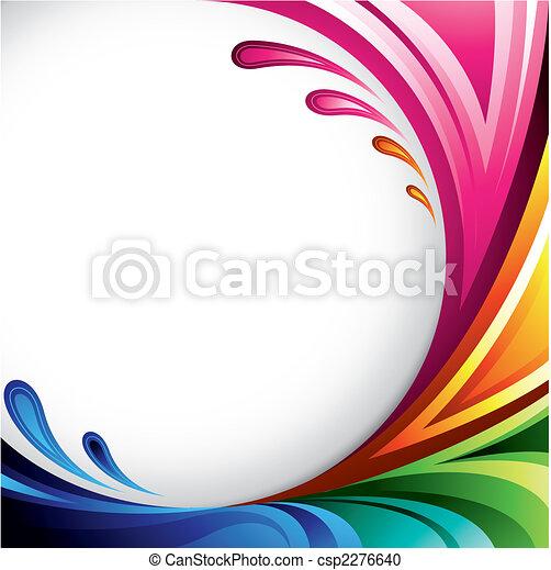 färgrik, bakgrund - csp2276640