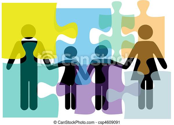 familj, folk, problem, lösning, hälsa, tjänsten, problem - csp4609091