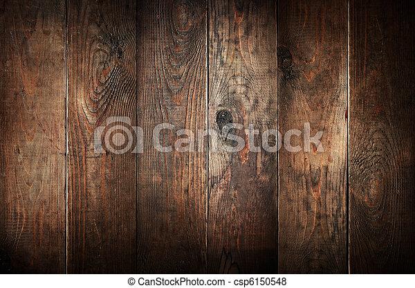 gammal, ridit ut, abstrakt, bakgrund., ved, planks. - csp6150548