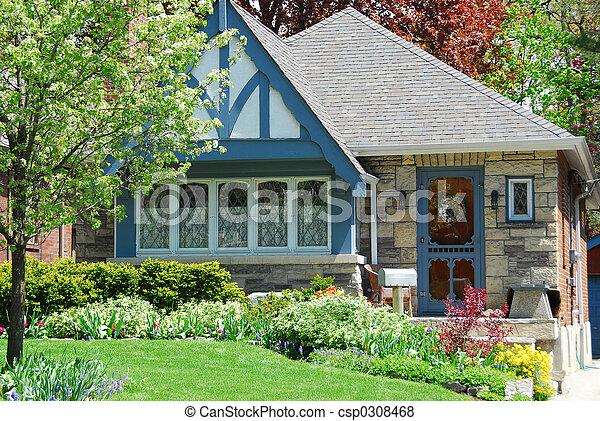 hus, förtjusande - csp0308468