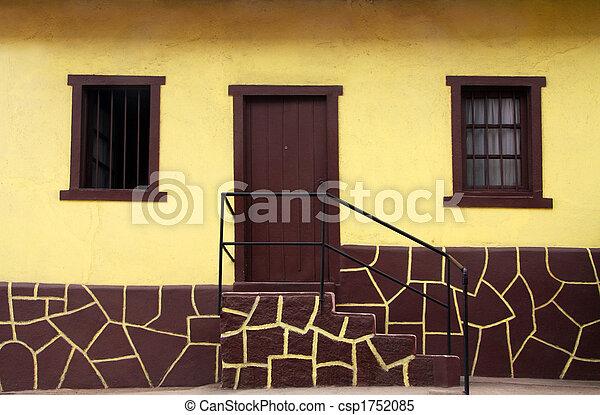 hus, gul - csp1752085