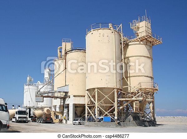 industri, cement - csp4486277