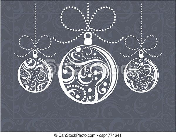 klumpa ihop sig, julkort, hälsning - csp4774641
