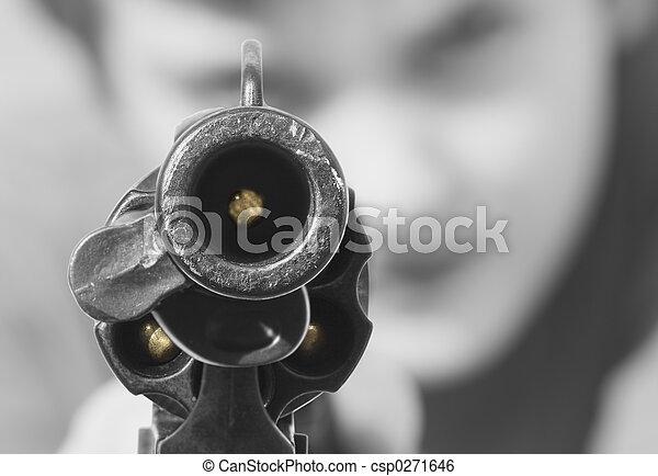 lastat gevär - csp0271646