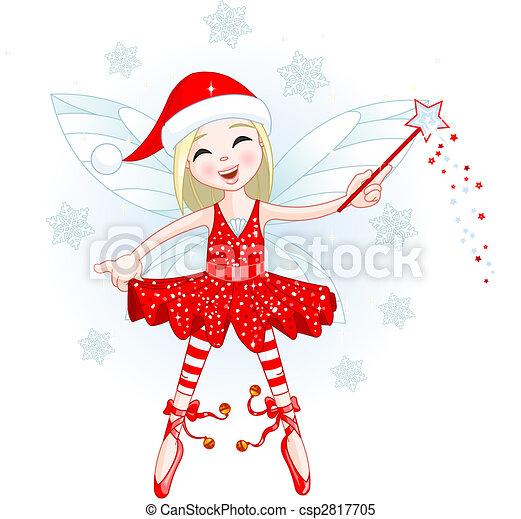 litet, jul, fe - csp2817705