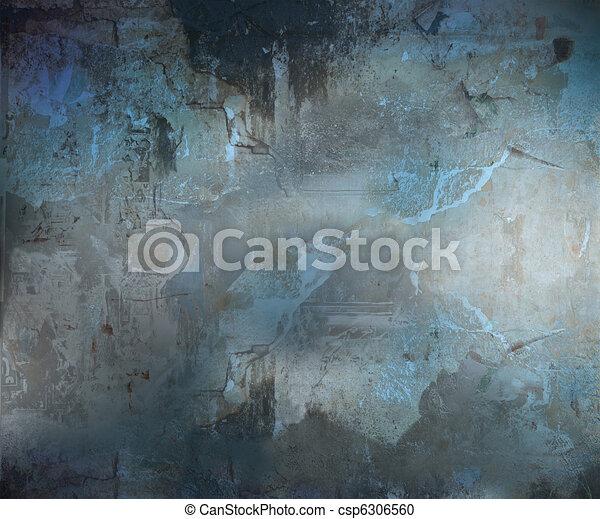 mörk, abstrakt, grunge, bakgrund, strukturerad - csp6306560