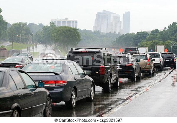 marmelad, trafik, blodstockning - csp3321597