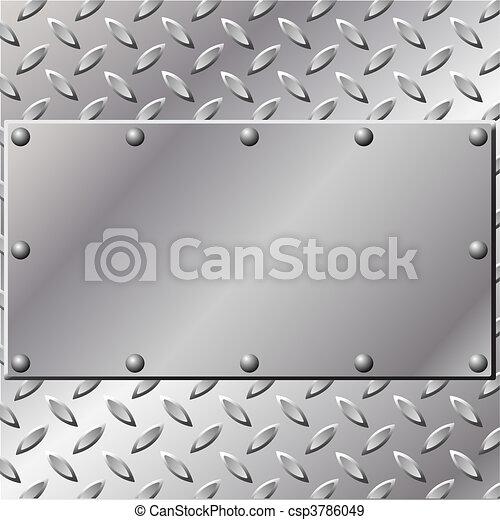metall, bakgrund - csp3786049