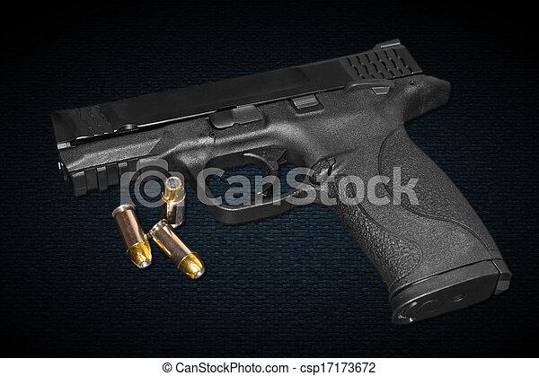millimeter, 45, gevär, kaliber - csp17173672