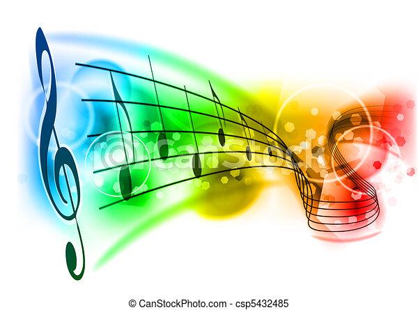 musik - csp5432485