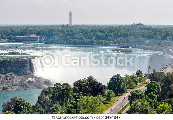 niagara vattenfallen - csp43494847
