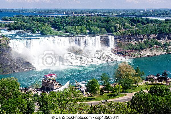 niagara vattenfallen - csp43503641