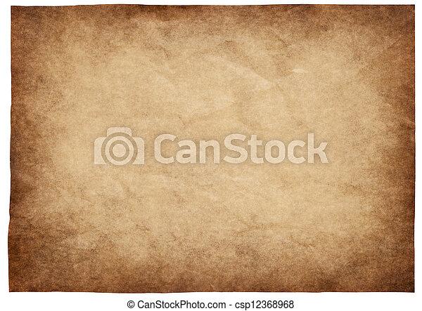 papper, gammal - csp12368968