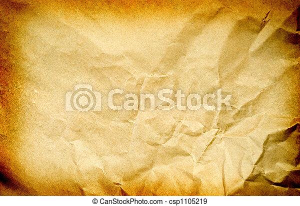 papper, gammal - csp1105219