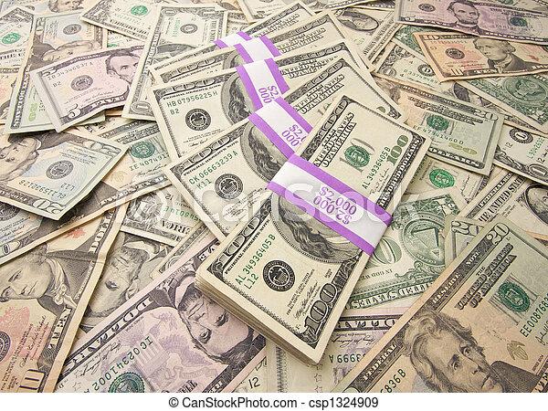 pengar, stack - csp1324909