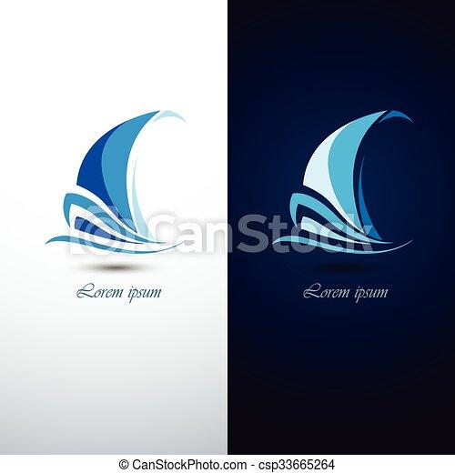 segelbåt - csp33665264