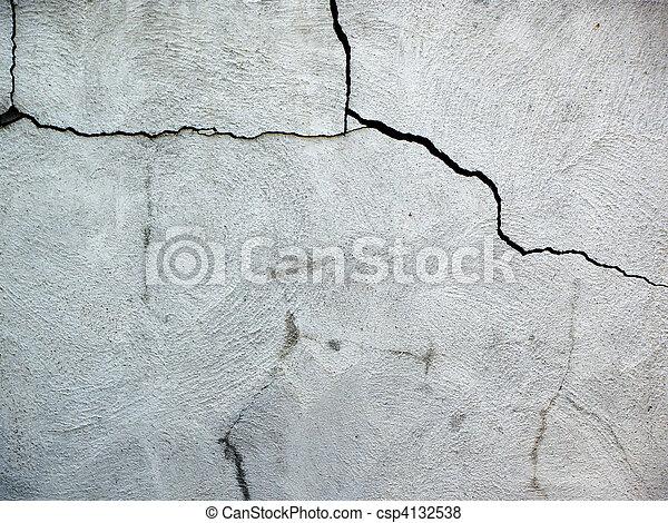 sprickor, cement - csp4132538
