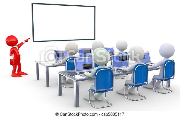 teacherand, deltagare - csp5805117