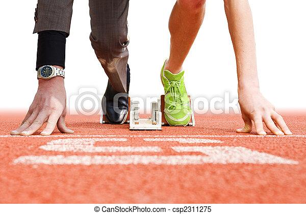 topp, sport, affär - csp2311275