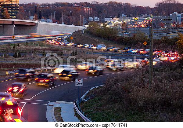 trafik, gripande - csp17611741