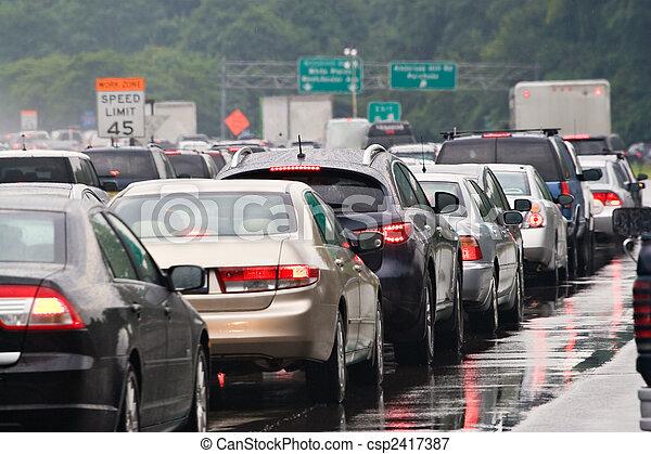 trafikstockning - csp2417387
