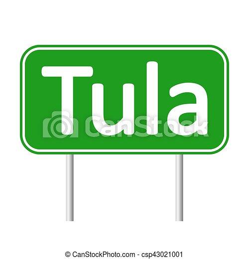 tula, skylt., väg - csp43021001