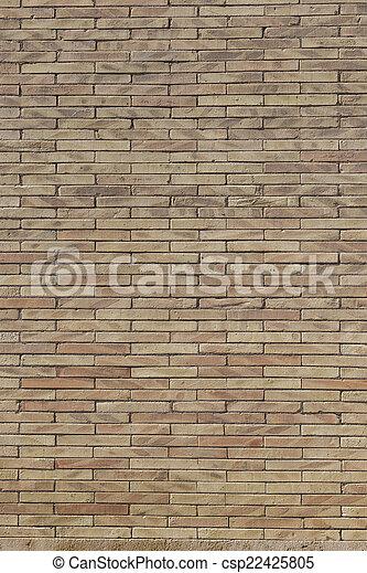 vägg, tegelsten, struktur, bakgrund - csp22425805