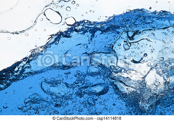 vatten, plaska - csp14114818