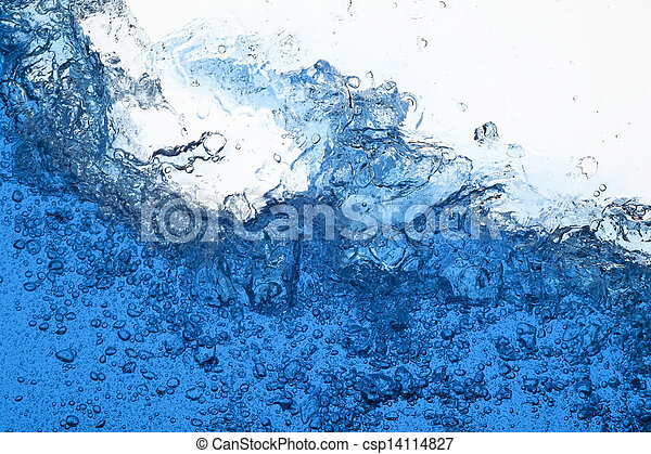 vatten, plaska - csp14114827