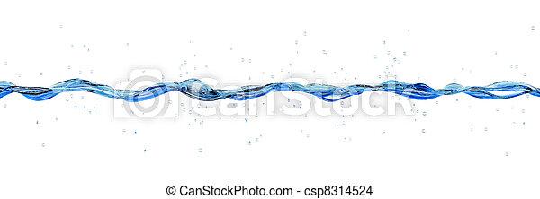 vatten, plaska - csp8314524