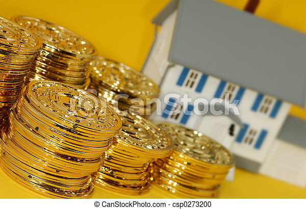 verklig, investering, egendom - csp0273200